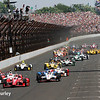 May 24: Track action during the 99th Indianapolis 500.