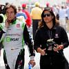 May 24: Carlos Munoz before the 99th Indianapolis 500.