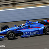 May 3: Tony Kanaan during practice for the 99th Indianapolis 500.