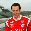 May 16-17: Simon Pagenaud during qualifications for the 99th Indianapolis 500.