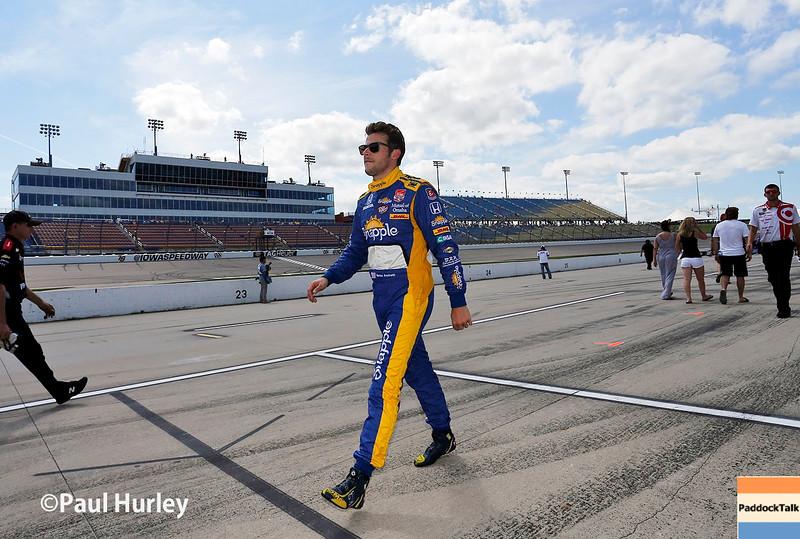 July 17-18: Marco Andretti during the Iowa Corn 300.