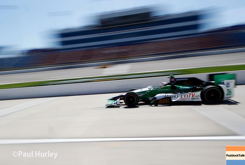 July 17-18: Carlos Munoz during the Iowa Corn 300.