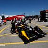 July 17-18: Josef Newgarden's car before the Iowa Corn 300.