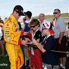 July 17-18: Ryan Hunter-Reay before the Iowa Corn 300.