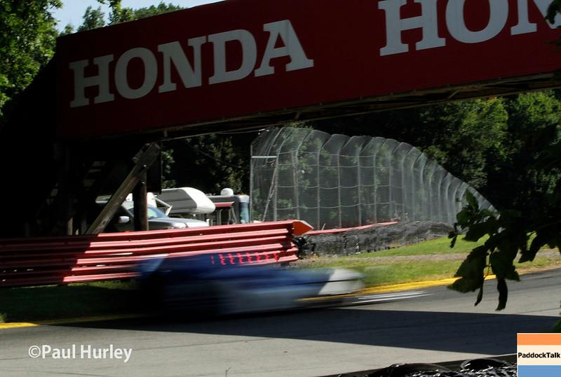 August 1-2: The Honda bridge at the Honda Indy 200 at Mid-Ohio.