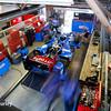 August 1-2: Tony Kanaan's garage at the Honda Indy 200 at Mid-Ohio.