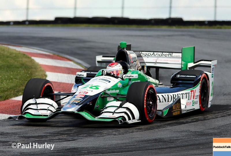 August 1-2: Carlos Munoz at the Honda Indy 200 at Mid-Ohio.