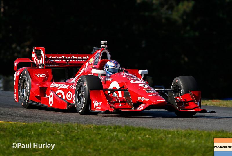 August 1-2: Scott Dixon at the Honda Indy 200 at Mid-Ohio.