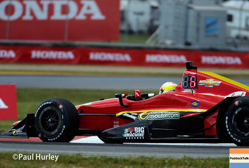 August 1-2: Sage Karam at the Honda Indy 200 at Mid-Ohio.