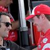 August 1-2: Dario Franchitti and Scott Dixon at the Honda Indy 200 at Mid-Ohio.