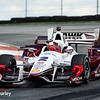 August 1-2: Juan Pablo Montoya at the Honda Indy 200 at Mid-Ohio.