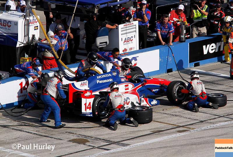 July 11-12:  Takuma Sato during the Wisconsin 250 at Milwaukee IndyFest.