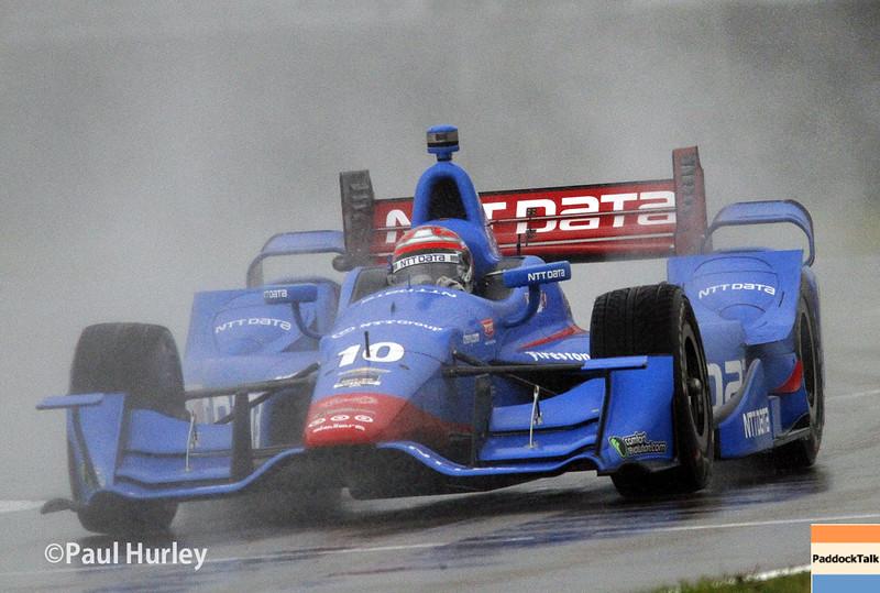 April 12: Tony Kanaan during the Indy Grand Prix of Louisiana.