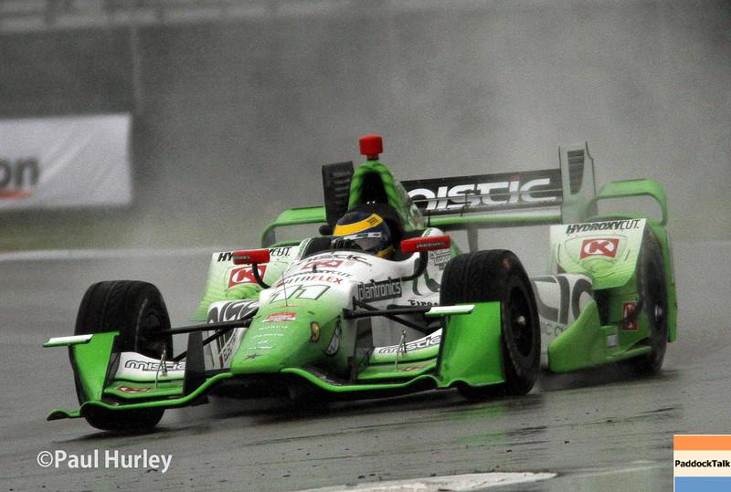 April 12: Carlos Munoz during the Indy Grand Prix of Louisiana.
