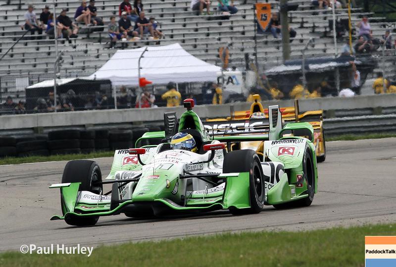 April 11: Sebastien Bourdais during practice for the Indy Grand Prix of Louisiana.