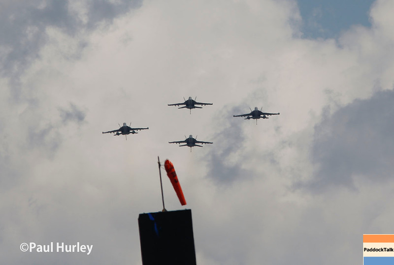 May 29: The flyover for the 100th Running of the Indianapolis 500.