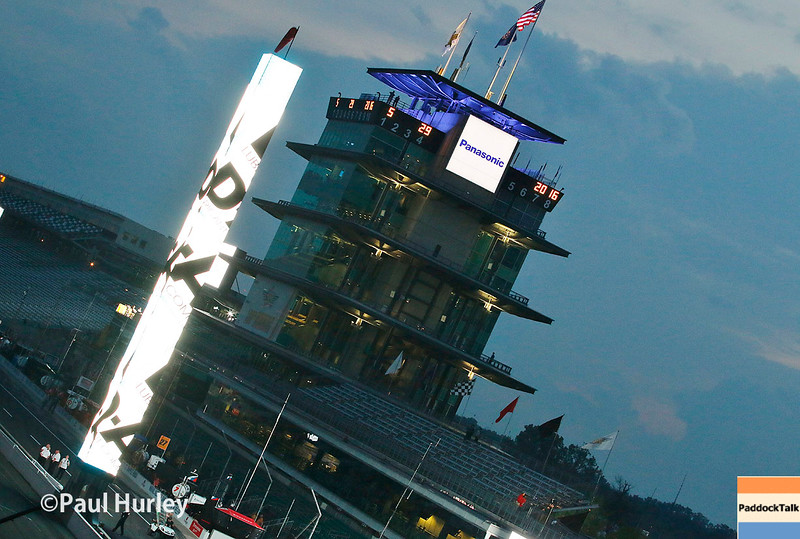 May 29: The sun rise before the 100th Running of the Indianapolis 500.