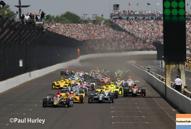 May 29: The start of the 100th Running of the Indianapolis 500.