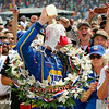 May 29: Alexander Rossi after winning the 100th Running of the Indianapolis 500.