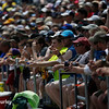 May 29: The fans during the 100th Running of the Indianapolis 500.
