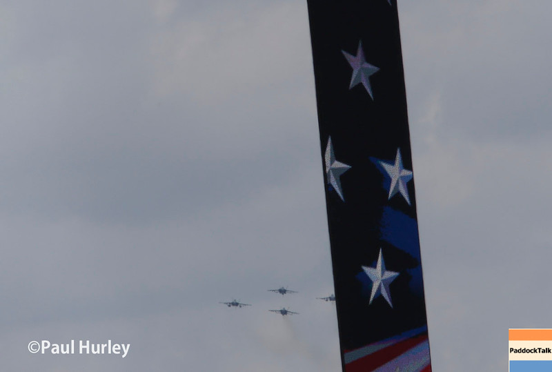 May 29: The flyover of the 100th Running of the Indianapolis 500.
