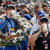 May 29: Alexander Rossi and Michael Andretti after the 100th Running of the Indianapolis 500.