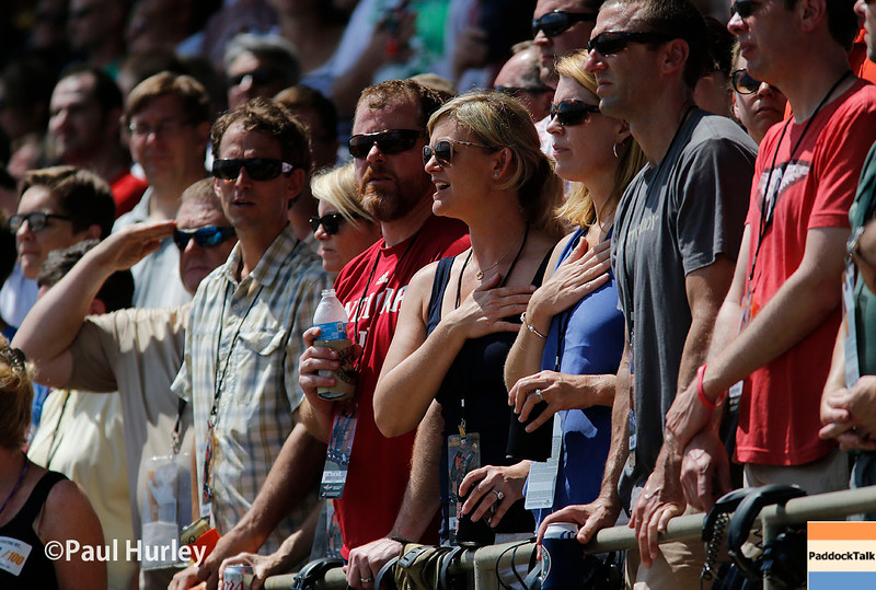 May 29: The fans before the 100th Running of the Indianapolis 500.