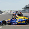 May 30: Alexander Rossi, Brian Herta and Michael Andretti after the 100th Running of the Indianapolis 500.