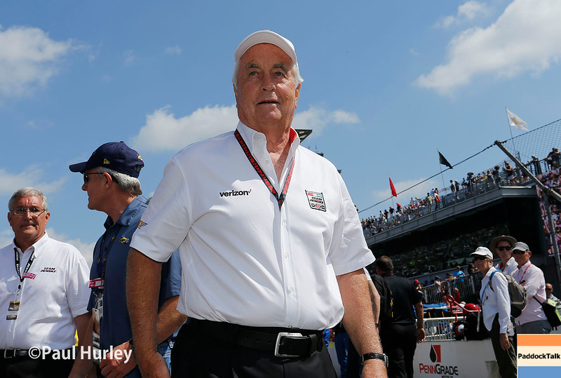 May 29: Roger Penske before the 100th Running of the Indianapolis 500.