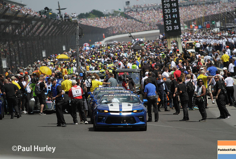 May 29: Prerace of the 100th Running of the Indianapolis 500.