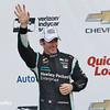 June 4-5:  Simon Pagenaud after the Chevrolet Detroit Belle Isle Grand Prix.