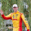 June 4-5:  Ryan Hunter-Reay after the Chevrolet Detroit Belle Isle Grand Prix.