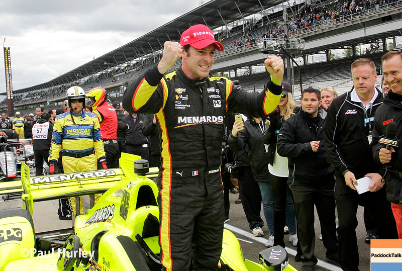 May 13-14: Simon Pagenaud wins the Angie's List Grand Prix of Indianapolis.