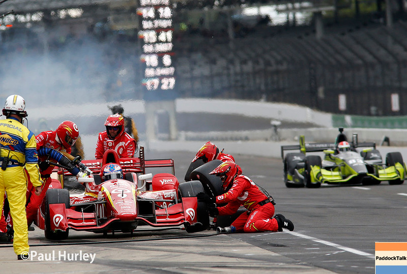 May 13-14: Pit action at the Angie's List Grand Prix of Indianapolis.