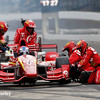 May 13-14: Scott Dixon pit stop at the Angie's List Grand Prix of Indianapolis.