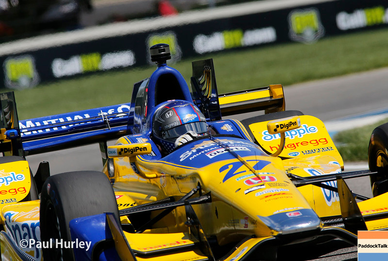 May 13-14: Marco Andretti at the Angie's List Grand Prix of Indianapolis.