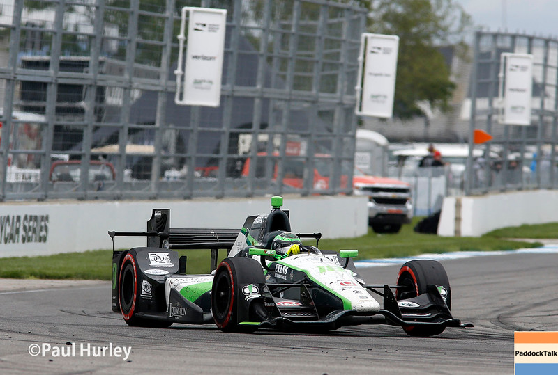 May 13-14: Conor Daly at the Angie's List Grand Prix of Indianapolis.