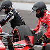 May 13-14: Graham Rahal pit stop at the Angie's List Grand Prix of Indianapolis.