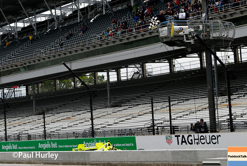 May 13-14: Simon Pagenaud wins the the Angie's List Grand Prix of Indianapolis.