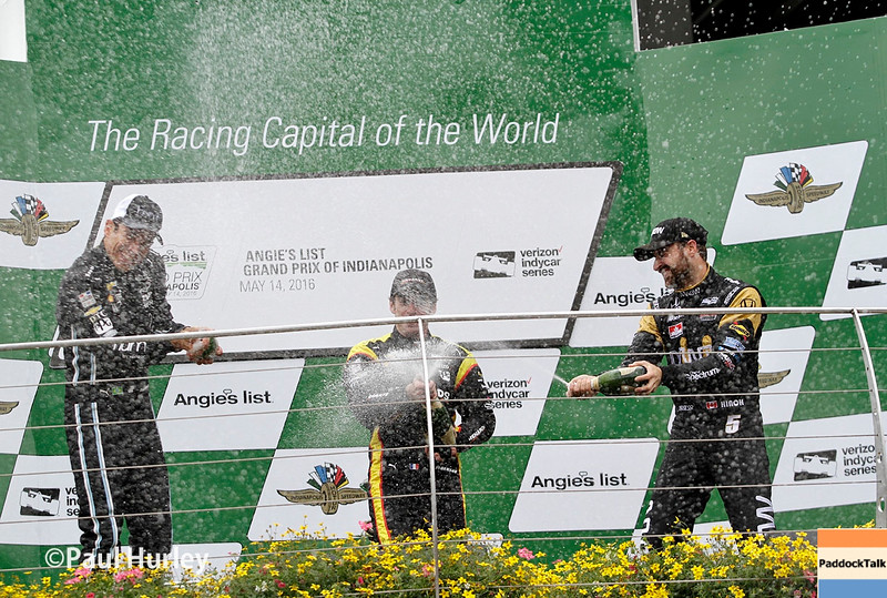 May 13-14: Winner's celebration at the Angie's List Grand Prix of Indianapolis.