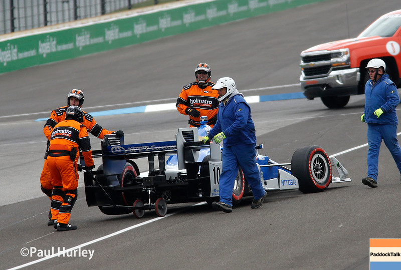 May 13-14: Tony Kanaan at the Angie's List Grand Prix of Indianapolis.