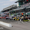 May 16-20: Pit action during practice for the 100th running of the Indianapolis 500.
