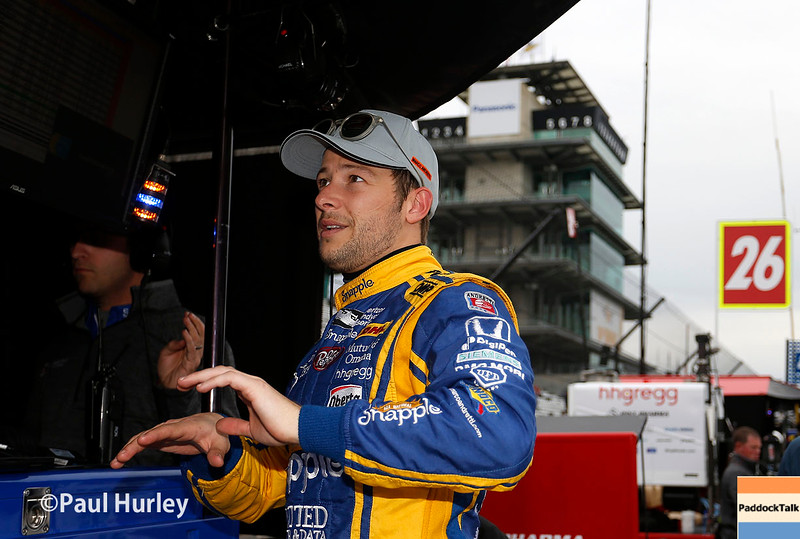 May 16-20: Marco Andretti during practice for the 100th running of the Indianapolis 500.