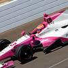 May 16-20: Pippa Mann during practice for the 100th running of the Indianapolis 500.