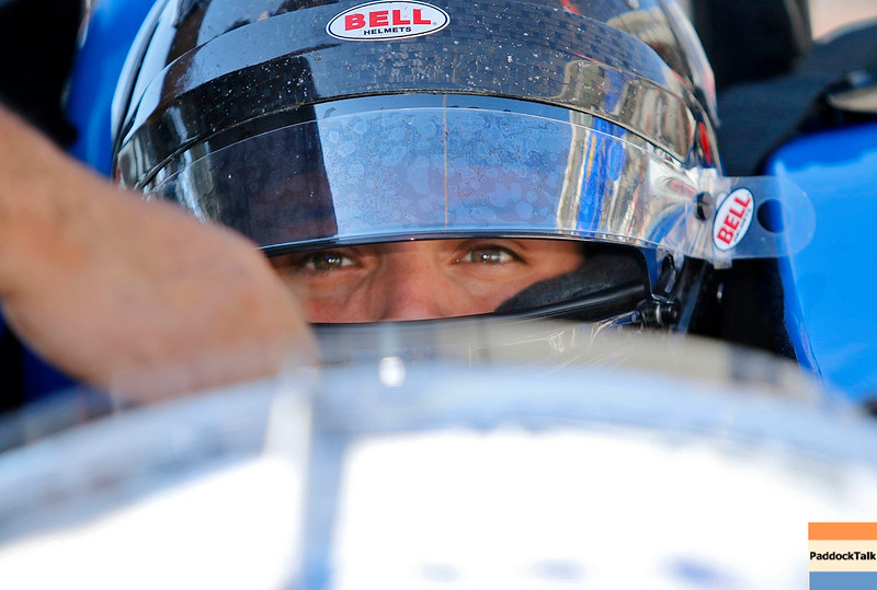 May 16-20: Gabby Chaves during practice for the 100th running of the Indianapolis 500.