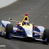 May 16-20: Alexander Rossi during practice for the 100th running of the Indianapolis 500.