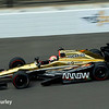 May 16-20: James Hinchcliffe during practice for the 100th running of the Indianapolis 500.
