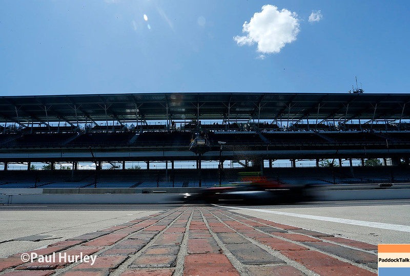 May 16-20: Track action during practice for the 100th running of the Indianapolis 500.