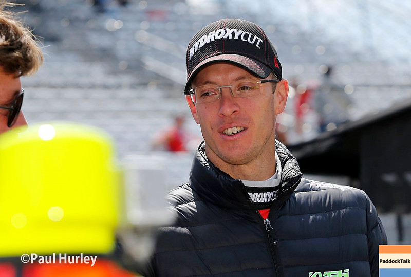 May 16-20: Sebastien Bourdais during practice for the 100th running of the Indianapolis 500.