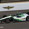 May 16-20: Bryan Clauson during practice for the 100th running of the Indianapolis 500.